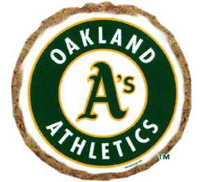 Oakland Athletics Dog Treats 6 pack
