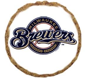 Milwaukee Brewers Dog Treats 6 pack