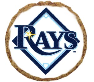 Tampa Bay Rays Dog Treats 6 pack