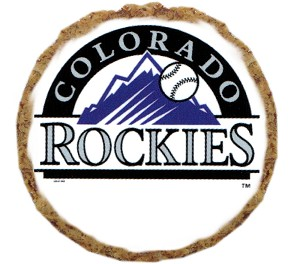 Colorado Rockies Dog Treats 12 pack