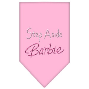Step Aside Barbie Rhinestone Bandana Light Pink Small