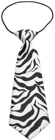 Big Dog Neck Tie Zebra