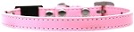 Plain Breakaway Cat Collar Light Pink Size 10