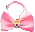 Easter Chick Chipper Bubblegum Pink Bow Tie