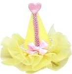 Pretty Party Hat Clip-on Yellow
