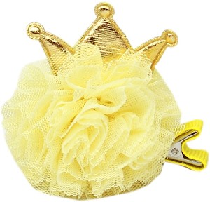Princess Puff Clip-on Yellow
