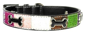 Ice Cream Collars Pink Bones Large