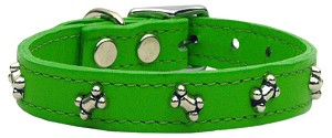 Bone Leather Emerald Green 18