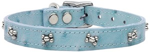 Faux Ostrich Bone Baby Blue 18