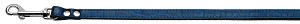 Jewel Croc Blue Plain Leash - 1/2''