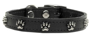 Paw Leather  Black 26