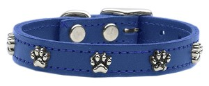 Paw Leather Blue 16