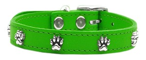 Paw Leather Emerald Green 14