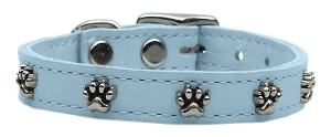 Paw Leather Baby Blue 18