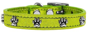 Metallic Paw Leather Lime Green MTL 18