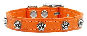 Paw Leather Orange 16