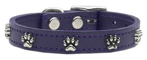 Paw Leather Purple 12