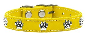 Paw Leather Yellow 12