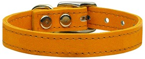 Plain Leather Collars Mandarin 10