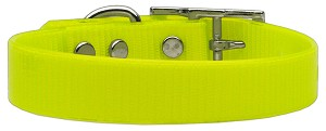 Plain Tropical Jelly Collars Yellow Lg