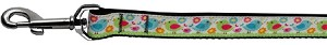 Chirpy Chicks Nylon Ribbon Collars 1 wide 6ft Leash
