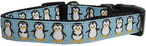Penguins Nylon Ribbon Collars Medium