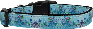 Dreamy Blue Dog Collar Large