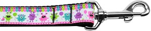 Party Monsters Nylon Dog Leash 4 Foot