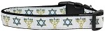 Jewish Traditions Nylon Dog Collar Medium