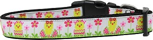 Spring Chicken Nylon Dog Collar Large