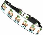 Beach Bum Nylon Dog Collar MD