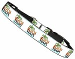 Beach Bum Nylon Dog Collar MD Narrow