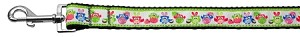 Easter Birdies Nylon Ribbon Dog Collars 1 wide 4ft Leash