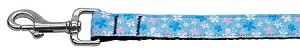 Butterfly Nylon Ribbon Collar Blue 1 wide 6ft Lsh