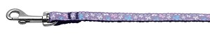 Butterfly Nylon Ribbon Collar Lavender 3/8 wide 4Ft Lsh