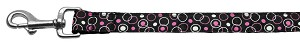 Retro Nylon Ribbon Collar Black 1 wide 4ft Lsh