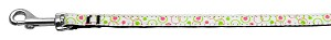 Retro Nylon Ribbon Collar White 3/8 wide 4Ft Lsh
