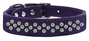 Sprinkles AB Crystal Leather Purple 20