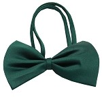 Plain Emerald Green Bow Tie