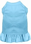 Plain Pet Dress Baby Blue XS (8)