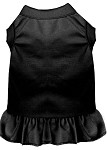 Plain Pet Dress Black XS (8)