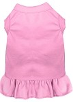 Plain Pet Dress Light Pink XS (8)