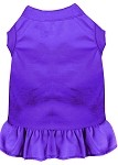 Plain Pet Dress Purple XS (8)
