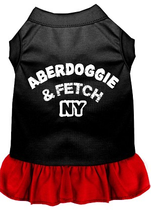 Aberdoggie NY Dresses Black with Red XXL (18)