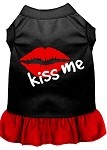 Kiss Me Dresses Black with Red XS (8)