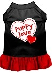 Puppy Love Dresses Black with Red XS (8)