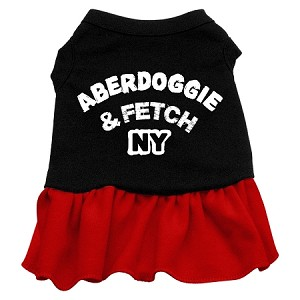 Aberdoggie NY Dresses Black with Red XS (8)