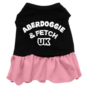 Aberdoggie UK Dresses Black with Light Pink Sm (10)
