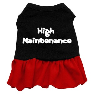High Maintenance Dresses Black with Red XL (16)