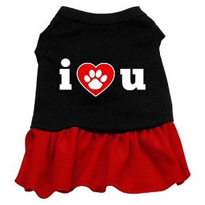 I Heart You Dresses Black with Red Sm (10)